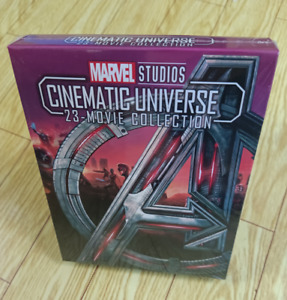 Marvel Studios Cinematic Universe 23 Movie Collection (Blu-ray) 8-DISC