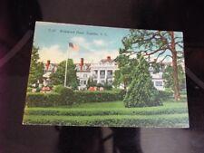 Kirkwood Hotel Camden South Carolina Vintage Postcard d