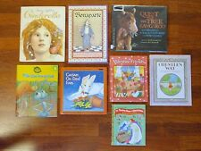 Lot of 8 Children's Picture Books - Quest for the Tree Kangaroo, Chester's Way +