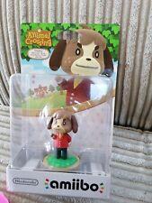 Amiibo Animal Crossing Collection Digby Figure Nintendo Wii U 3DS NEW