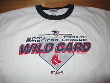2004 American League WILD CARD Boston Red Sox (XL) T-Shirt