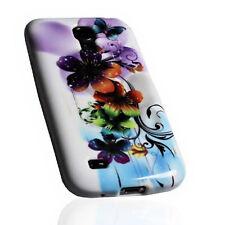 Design No.3 Silikon TPU Cover Case Handy Hülle  für Samsung i9190 Galaxy S4 Mini
