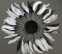 Halloween//Costume Top Quality Hackle MANY COLORS FULL PINWHEEL FEATHERS