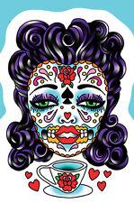 Sunny Buick Tea Sugar Skull Sticker