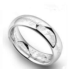 Men's Ring Lord of the Rings The One Ring Lotr Stainless Steel Fashion Size 6-13