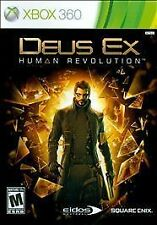 Deus Ex Human Revolution for Xbox 360 *Sealed*