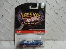 Hot Wheels Larry's Garage #13 Blue '68 Mercury Cougar  w/Real Riders