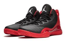 Jordan Super. Fly 3 Po 724934-601 Universidad Rojo Blanco Negro UK 17 EU 52.5 nos 18