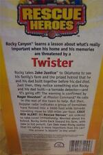 Fisher-Price Rescue Heroes TWISTER VHS VIDEO NEW