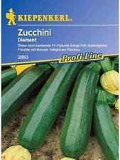 "Kiepenkerl Zucchini"" Diamant "" 2850  F1-Hybride  Zucchini Kürbis Gemüse 10 Korn"