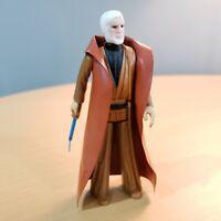 1977 Obi Wan Kenobi Vintage Star Wars Action Figure with Lightsaber & Cape HK
