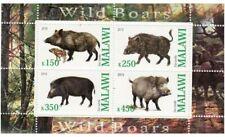 Wild Boars -  Sheet of 4  - 13K-029