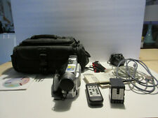 JVC GR-DVL510 Digital Video Camera Mini DV 400X Digital Zoom Case WORKS!