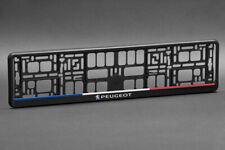 2 x Peugeot Euro License Plate Frame