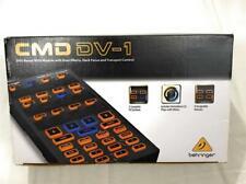 Behringer CMD DV-1 DJ Controller with Dual Effects, Deck Focus Transport Control