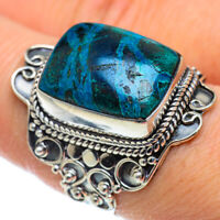 Large Chrysocolla 925 Sterling Silver Ring Size 9 Ana Co Jewelry R50222F