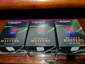 Magic the Gathering Double Masters - VIP BOOSTER PACK - Factory Sealed - ENGLISH