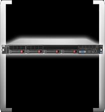 HP COMPAQ PROLIANT DL360 G7 INTEL QUAD XEON E5620 2.40 GHZ 8 GB DDR3 RAM 19ZOLL