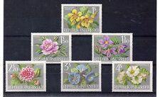 Austria Flores Serie del año 1964 (DA-906)
