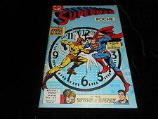 Superman poche 62/63 Editions Sagédition octobre/novembre 1982