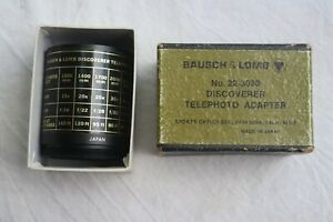 Bausch & Lomb 22-3030 Discoverer Telephoto Adapter