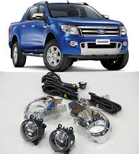 FORD Ranger PX Driving Fog Lights Lamps Complete Kit 2011-2014 WITH BULBS