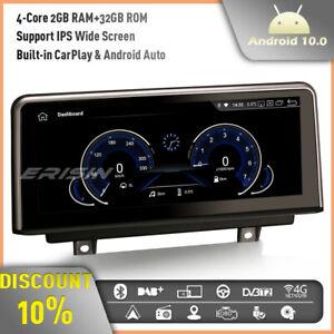 "8-Core 10.25"" CarPlay Android 10 Car Stereo GPS BMW 1/3/4 Series F20 F30 F32 M3"