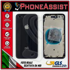 TELAIO SCOCCA POSTERIORE iPhone 8 Plus BACK HOUSING Nero/Grigio (Black/Grey)