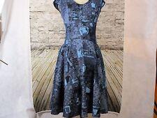 Women's Dress Blue Medium  Unique retro