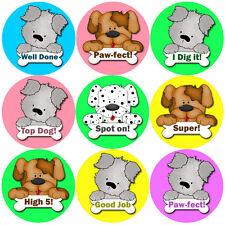 144 Puppy Praisers 30mm Children's Reward Stickers for Teacher, Parent