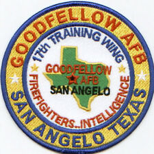 Goodfellow Afb, San Angelo Texas, 17Th Training Wing Y