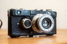 Black Contax I from 1936 + Zeiss Tessar 3.5