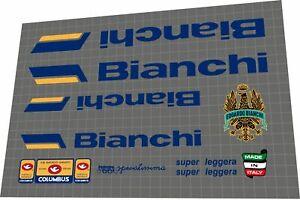 Bianchi specialissima super leggera 1984