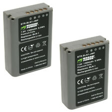 Wasabi Power Battery for Olympus BLN-1, BCN-1 (2-Pack)