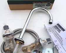 $200 American Standard 7830.000.002 Widespread GooseNeck Bath Faucet, Chrome NEW