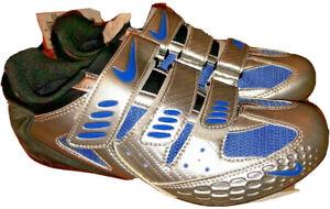 Nike Womens Altea II Silver road/SPD Cycling Shoes - Size EUR 38 / US 7 - 91916