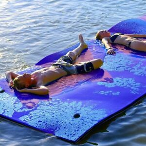 Floating Water Pad Mat Tear-resistant 2-layer XPE Roll-up Floating Island for Po