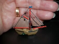 WONDERFUL SAILING SHIP  FOR YOUR MINIATURE MANTLE