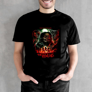 The Howling T-Shirt Werewolf classic Black Unisex T-shirt, Gifts for Men, Women