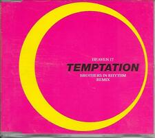 HEAVEN 17 - Temptation (BROTHERS IN RHYTHM REMIX) CDM 5TR House 1992 Europe