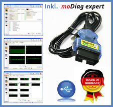 AGV4000 OBD2 Interface + modiag Expert Vollversion, VW BMW Audi Toyota Opel Seat
