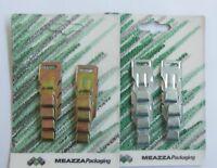 8 PZ GANCI FISSI PER TAPPARELLE ART.1061/B MEAZZA PACKAGING NEW