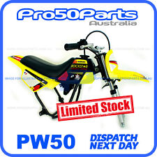 Yamaha PW50 Peewee Yellow Plastics Fender Cover + Fuel Tank + Seat