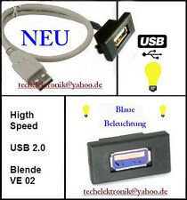 USB Einbaubuchse BELEUCHTUNG 50cm Campingbus Wohnmobil Wohnwagen Transporter Kfz