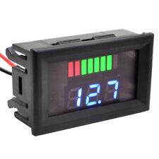 12v 60v Led Digital Voltmeter Voltage Meter Battery Gauge Car Motorcycle Us