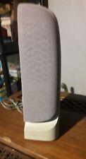 Polk Audio High Quality HP PC Desktop Computer Stereo Speaker Gray Right Side