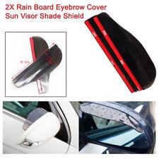 Car SUV Rear view Side Mirror Rain Board Eyebrow Cover Shield Sun Visor Shade