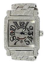 Franck Muller Cortez Conquistador Diamond Stainless Steel Watch 10000