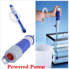 Car Electric Battery Syphon Powered Pump Diesel Fuel Water Gas Pump With Hose