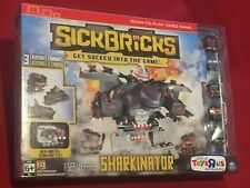 Stick Bricks Scan-To-Play Video Game Figures Sharkinator Playset NEW Toys R Us E
